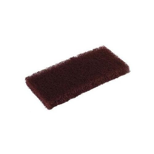 Pad à usage manuel 120 x 250 mm brun