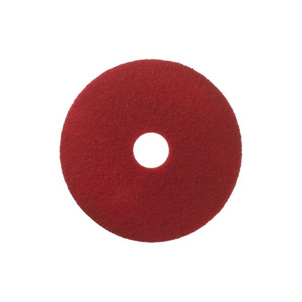 Reinigungs-Pad Ø 406 mm rot