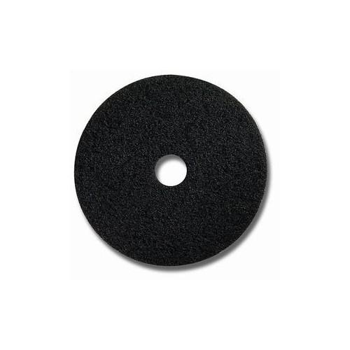 Reinigungs-Pad Ø 406 mm schwarz