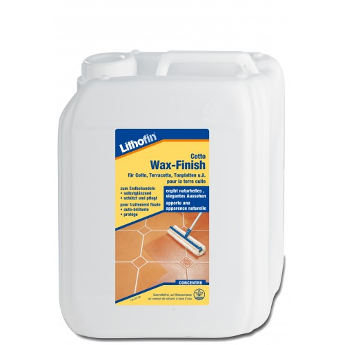 "Cotto Wax-Finish ""W"" 5 Liter"