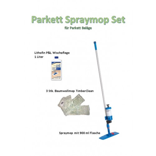 Parkett Spraymop Set Drizz FK-490