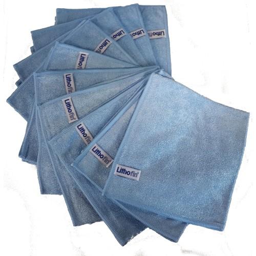 Lithofin Microfasertuch blau Set 10 Stück