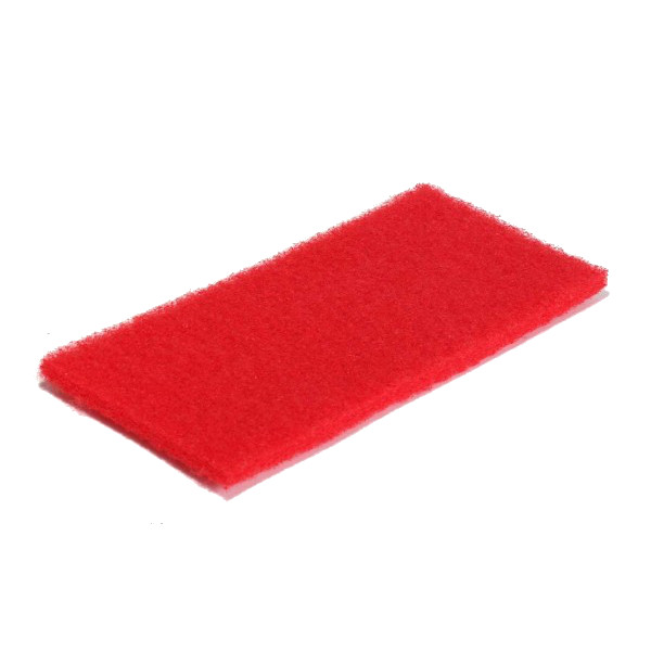 Handpad 120 x 250 mm rot