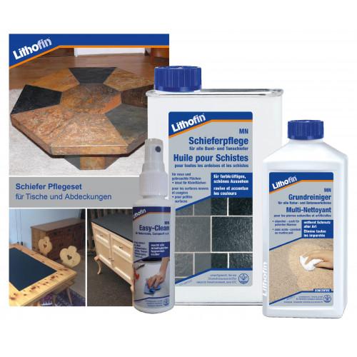 Reinigungs- & Pflege-Set Schiefer