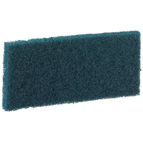 Pad à usage manuel 120 x 250 mm bleu