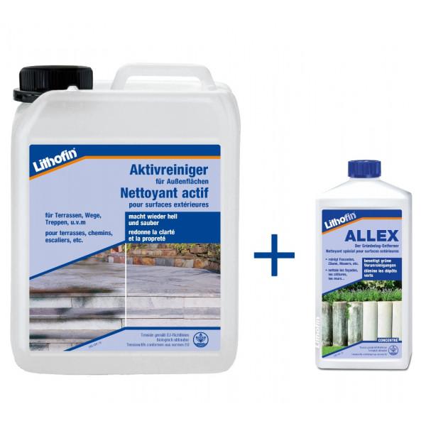 Aktivreiniger 10 Liter + Allex gratis