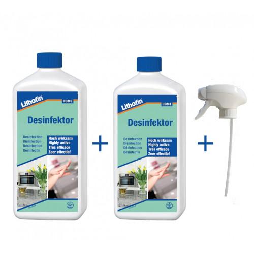 Desinfektor 500 ml mit Spray