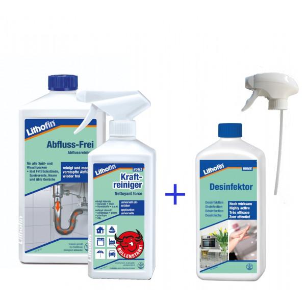Desinfektor *2 für 1 Aktion* 500 ml mit einem Spray gratis!