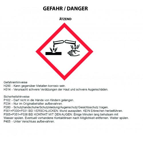 Kaminglasreiniger 500 ml (Sprayflasche)